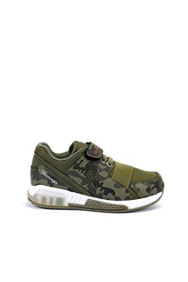 Slazenger Ela Erkek Çocuk Sneaker Ayakkabı Haki